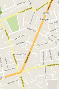Rathgar Map